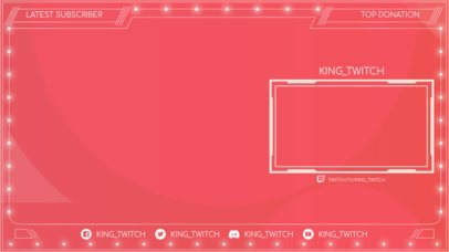Dazzling OBS Stream Overlay Design Template for Gamers 2513b