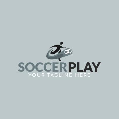 Sports Logo Maker for a Rookie Soccer Team 1297D-el1