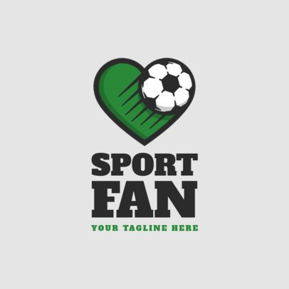 Sports Logo Template For an Established Soccer Team 1297F-el1