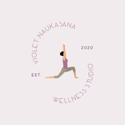 Wellness Logo Template with Yogi Icons 1302-el1