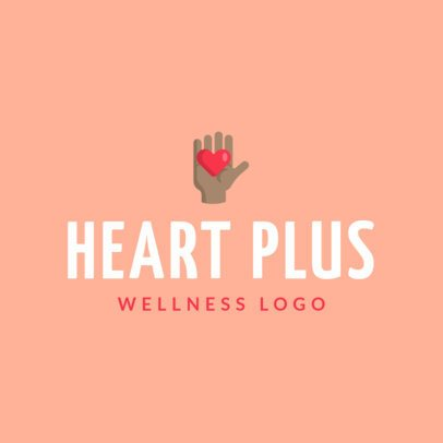 Healthiness Logo Creator for Wellness Centers 1303f-el1