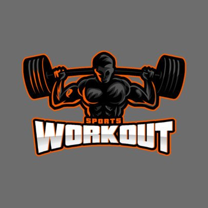 Sports Logo Maker Featuring for a Fitness Center 1427-el1