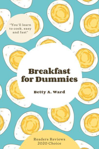 eBook Cover Maker for Beginners' Food Recipes 1415-el1