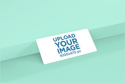 Mockup of a Customizable Gift Voucher 4080-el1