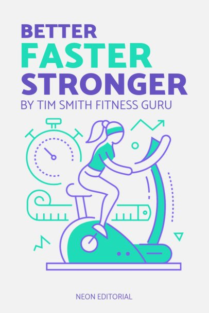 eBook Cover Template for Healthy Lifestyle Topics 1419-el1