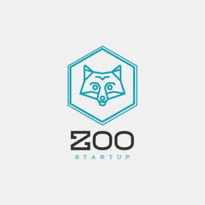 Minimalist Logo Maker Featuring Outlines of Animals 1395-el1