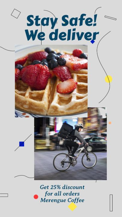 Instagram Story Creator for a Food Delivery Promo 2525b