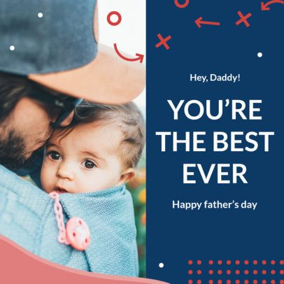 Instagram Post Maker with Father's Day Quotes 2545