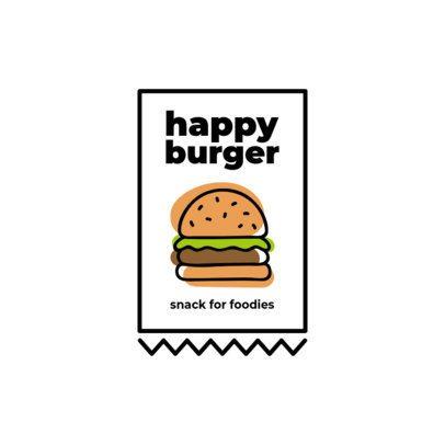 Logo Maker for Food Trucks Featuring Minimalist Graphics 1489-el1