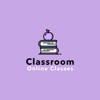 Logo Template for an Online Classroom 1501a-el1