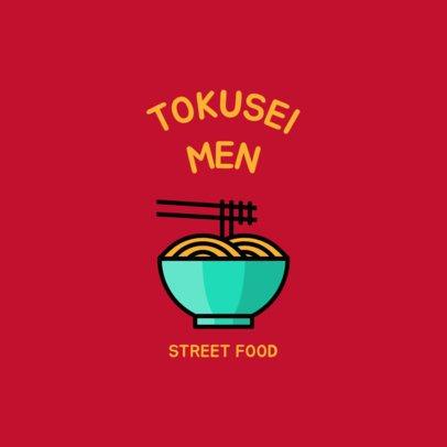 Logo Generator Featuring Yummy Food Icons 1491-el1