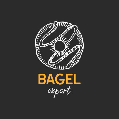 Logo Generator for a Professional Bagel Taster 1534f-el1