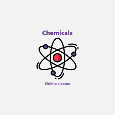 Logo Generator for Science-Themed Online Courses 1571b-el1