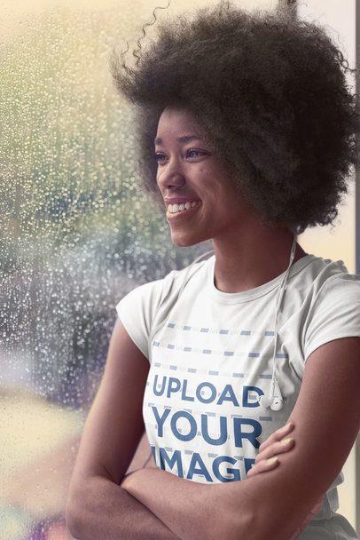 T-Shirt Mockups With Black Models