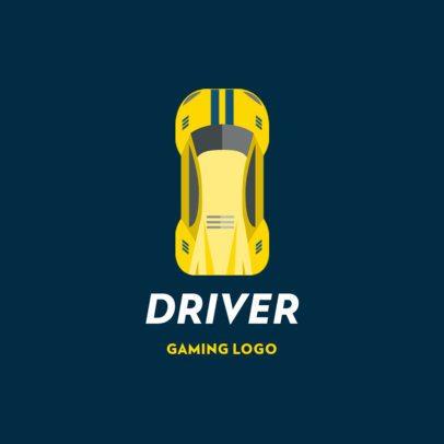 Gaming Logo Creator for Auto Racing 1648c-el1