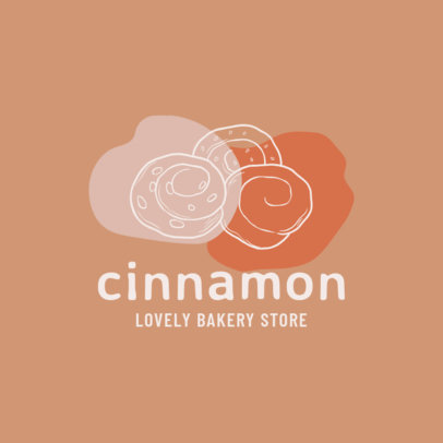 Online Logo Template for Bakeries Featuring Outline Graphics 1746-el1