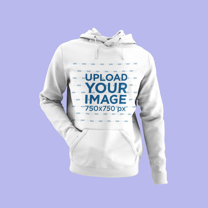 Hoodie Mockup Featuring an Invisible Person with a Hand in the Pocket 4441-el1