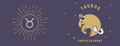 Coffee Mug Design Maker Featuring Zodiac Signs Illustrations 1843-el1