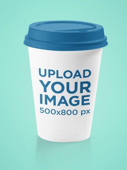 Simple Mockup of a Paper Cup 36531-r-el2