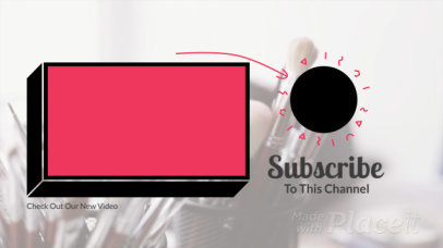 Simple YouTube End Card Video Generator Featuring Animated Doodle Graphics 455-el1