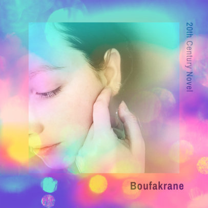 Album Cover Maker with a Polychromatic Effect 2639f