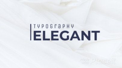 Elegant Intro Maker with Text Animation 1023-el1