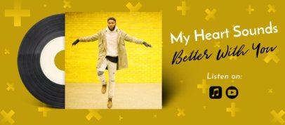 Music Facebook Cover Design Maker for an Upcoming Album 2675e