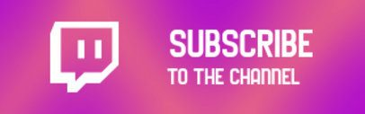 Twitch Panel Design Maker with a Subscription Invite Message 2672a