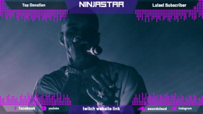 Twitch Overlay Generator for a Music Artist 2679i