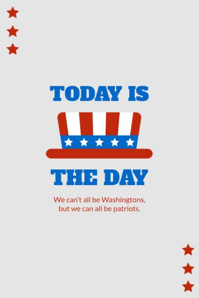 Pinterest Pin Creator with a Patriotic Quote for Americans 1948c-el1