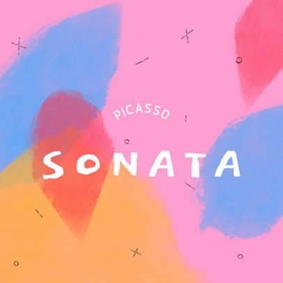 Typography Logo Generator Featuring Watercolor-Style Graphics 3391e