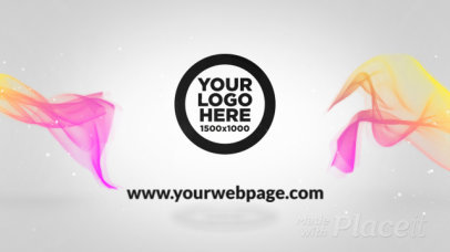 Intro Video Template Featuring Colorful Floating Fabrics 655-el1
