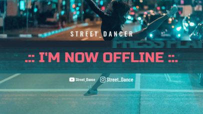 Twitch Offline Banner Creator for a Dancers Channel 2705e