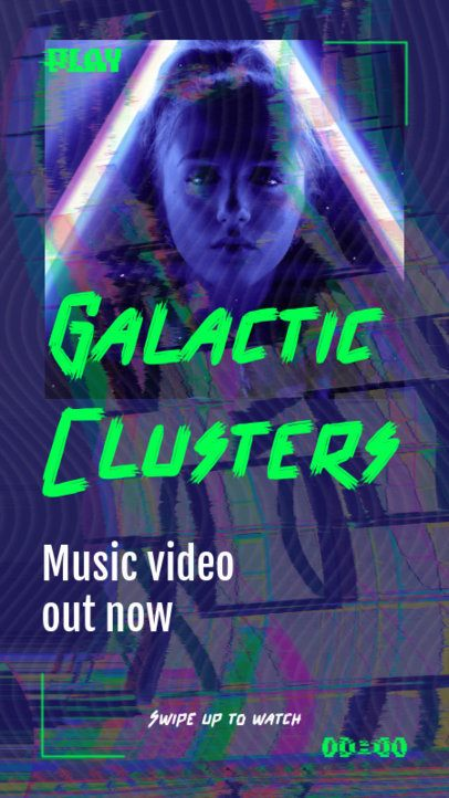 Instagram Story Maker for a Music Video Release 2699c