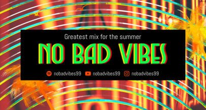 Summer-Themed Twitch Banner Maker with a Trippy Background 2721c