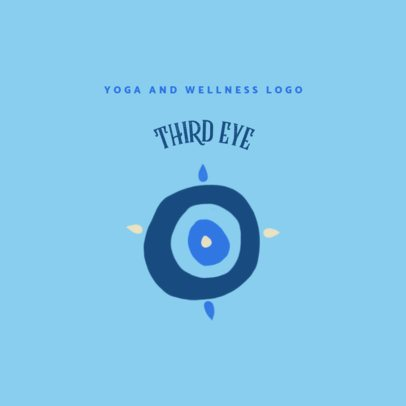 Logo Template for a Yoga and Wellness Center 3465e