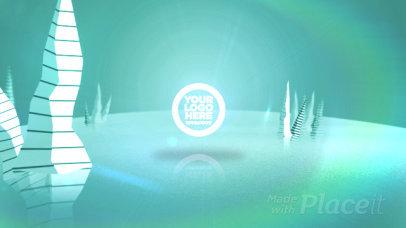 Colorful Intro Video Maker Featuring 3D Plants 2108-el1