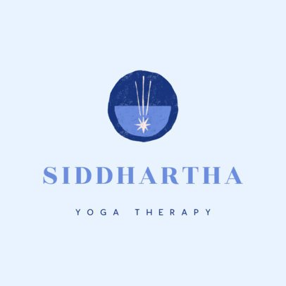 Logo Maker for a Yoga Therapist 3464a