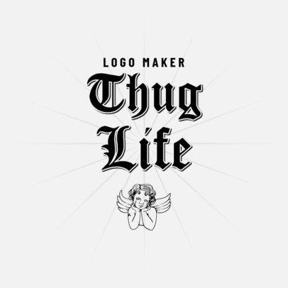 Logo Maker Featuring Hip-Hop Style Typography 3517