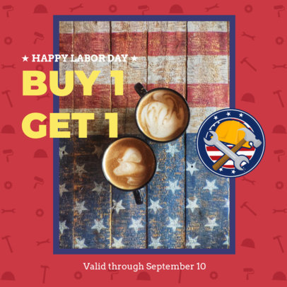 Instagram Post Template for a Store's Labor Day Sale 2777a