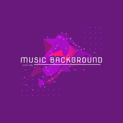Abstract Logo Template for a Music Label 2436b-el1