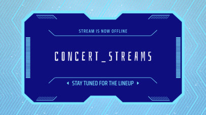 Twitch Banner Template for a Music Festival Live Stream 2812h