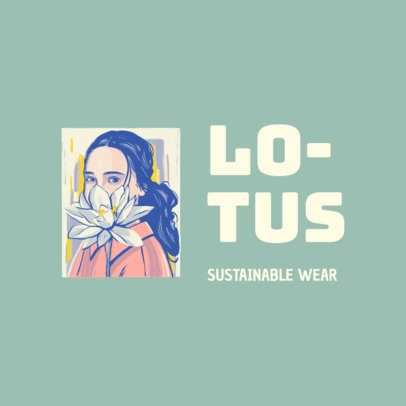 Logo Maker for a Sustainable Clothing Line 3604e