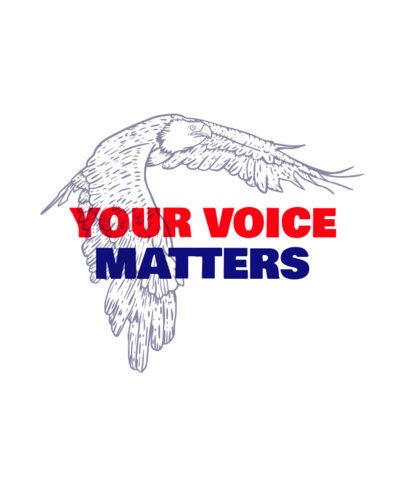 Illustrated T-Shirt Design Maker for a Political Campaign with an American Eagle 2874b