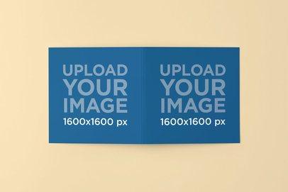 Mockup Featuring Both Covers of a Digipak 4904-el1