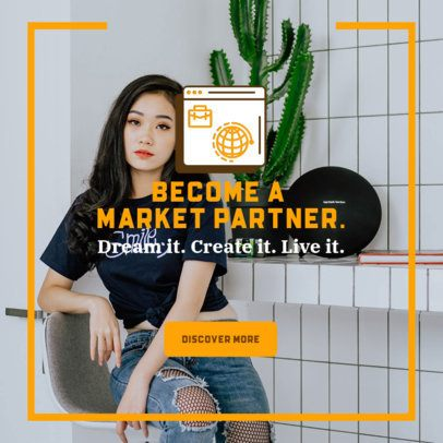 Ad Banner Maker for Tips on Becoming a Market Partner 2900f