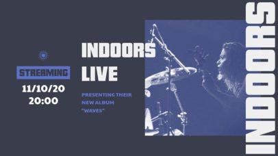 Twitch Banner Generator for an Indoor Concert Lineup 2752a-el1