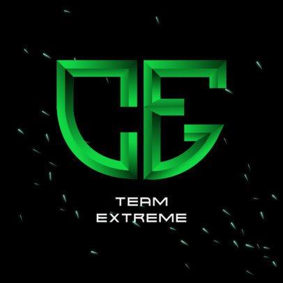 Monogram Logo Maker for a Gaming Squad 3622m-3629