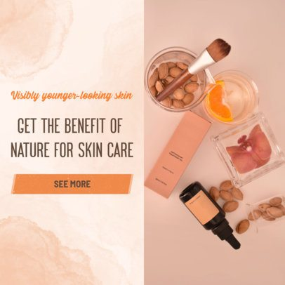 Ad Banner Template for an MLM Beauty Company 2903f