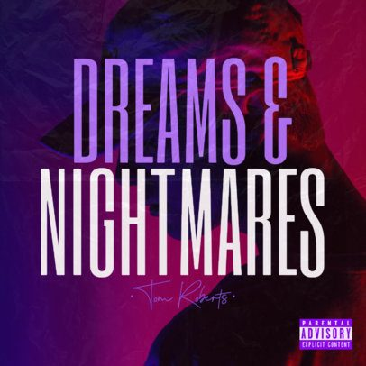 Album Cover Template for a House Music DJ 2932c